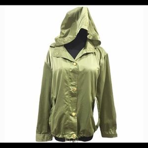 NWT Michael Kors  Windbreaker Light Sage Jacket